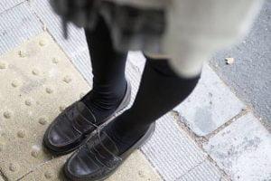 あの子の靴。